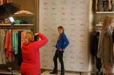 Fotomodel voor een middag Shoeby Sliedrecht maart 2014