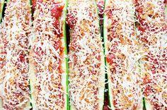 Recipe:+Skinny+Sausage+Zucchini+Boats