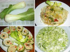 Pak choi, čínské zelí, využití vkuchyni. • Pak choi nebo bok choy? •Kčemu se hodí pak choi? •Vařit pak choi, nebo jíst za syrova? • Recept na kuřecí soté Pak Choi, Zucchini, Cabbage, Vegetables, Food, Summer Squash, Veggies, Veggie Food, Meals