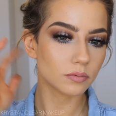 Latest Makeup For Girls - Makeup Tutorial Smokey Makeup Trends, Makeup 101, Skin Makeup, Eyeshadow Makeup, Eyeliner, Makeup For Eyes, Makeup Brushes, Makeup Emoji, Makeup Younique