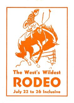 Vintage Clip Art - Rodeo Cowboy - The Graphics Fairy