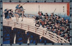 Act_XI_Fifth_Episode_(Actually_Fourth)-_Ronin_Stopped_from_Crossing_Ryogoku_Bridge_by_Shogun's_Representative_LACMA_M.66.35.60.jpg (2100×1370)