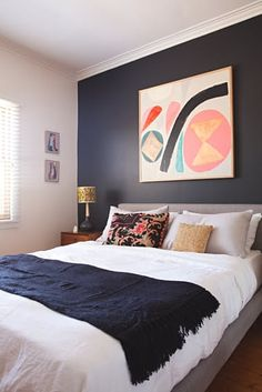Name: Kristina Sostarko and Jason Odd, Kibi the dog, and Denni the rabbit Location: Victoria, Australia Size: 72.51 square meters (780 square feet) Years lived in: 5 years; Owned I have been a longtime fan of the colorful, graphic prints and artwork created by Kristina Sostarko and Jason Odd, the duo behind inaluxe. The couple originally met at art school in the '90s and then both worked in the music industry in Melbourne. In 2010, they made a move to the county town of Stawell near the…