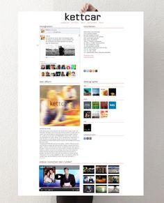 Social Media Newsroom für Kettcar #socialmedia #socialmediamarketing #blog #aachen #website #facebook