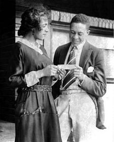 African-American movie actor & producer Noble Johnson was born April 18, 1881in Missouri.His family moved to Colorado, when he was very young,in the 1920s, Noble Johnson was a very busy character actor,appearing in block buster films:The Four Horsemen of the Apocalypse 1921 with Rudolph Valentino,Cecil B. DeMille's  The Ten Commandments 1923 & The Thief of Bagdad1924.He made the transition to sound, appearing in the 1930 film Moby Dick as Qeequoq to John Barrymore's Captain Ahab. Biddy Craft