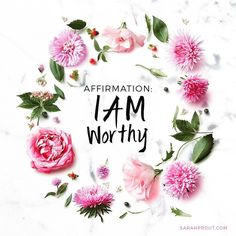 I love this affirmation from @sarahprout. It's one many of us need to repeat and remember. To anchor this affirmation I'd use an essential oil blend of Spruce Frankincense Rosewood and a touch of Pink Grapefruit. Anoint yourself with the blend on your pulse points and repeat the affirmation. Say it daily. Say it often. Say it until you believe it. Because after all you really are worthy #iamworthy #affirmations #essentialoils #aromatherapy #aromaticinsights