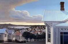 Peter Siddell » nz-artists #NewZealand #architecture @PeterSiddell #NZArt #NZpainting New Zealand Art, Nz Art, Auckland, Asian Art, Seattle Skyline, Art Prints, Landscape, Outdoor Decor, Kiwi