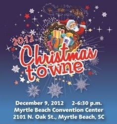 Christmas Towne, held by the Myrtle Beach Chamber of Commerce, will feature balloon art, face painting, taxi jet rides, letters to Santa, Thomas the Train rides, FREE photos with Santa and Mrs. Claus and the city's Christmas Tree Lighting. The event will also serve as an official drop-off location for Toys for Tots. For each toy your donate, you'll receive a free voucher for medium tots from Sonic. The event and parking are free.