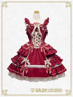 Baby, the stars shine bright Muse~Poetry for the prayer~jumper skirt Rococo Fashion, Lolita Fashion, Japanese Street Fashion, Asian Fashion, Pretty Outfits, Pretty Dresses, Fairy Costume For Girl, Mode Lolita, Lolita Style