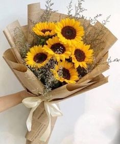 Image about love in Yellow Is The New Pink by Lucian Boquette Flowers, Flower Bouqet, How To Wrap Flowers, Beautiful Bouquet Of Flowers, Luxury Flowers, Fresh Flowers, Colorful Flowers, Planting Flowers, Beautiful Flowers