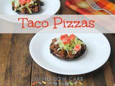 How To Make Taco Recipe : Taco Pizzas