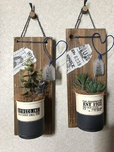 for farmhouse decor decor house tour is rustic farmhouse decor decor ladder decor office decor on a budget farmhouse decor still popular decor examples Aluminum Can Crafts, Tin Can Crafts, Vasos Vintage, Home Crafts, Diy And Crafts, Tin Can Art, Recycle Cans, Rustic Farmhouse Decor, Farmhouse Style