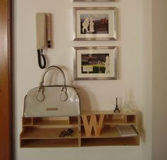 2 Mackis organizers, some screws and you have a cool entryway organizer