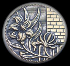 Metal Picture Button  Large by KPHoppe on Etsy
