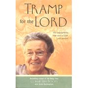 "After her release from the concentration camp, Corrie ten Boom set out to become what she calls a ""tramp for the Lord,"" traveling around the world at the direction of God, proclaiming His message everywhere."