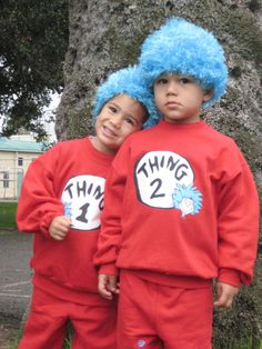 4th Halloween-Thing 1 & Thing 2