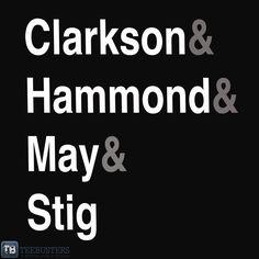 Top Gear Surnames