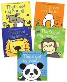 Perfect baby shower gift - Usborne Books & More. That's Not My...Animals Collection (5)