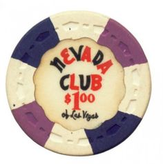 Awesome collection of old casino chips.