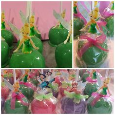Tinkerbell Candy Apples