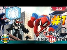 Disney Infinity PC 2 0 Spider Man PT BR Gameplay Playset #1