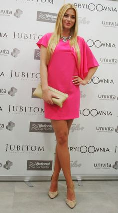 MARCELINA ZAWADZKA National Car, Polish Girls, Shoulder Dress, Model, Pink, Beauty, Google, Dresses, Fashion