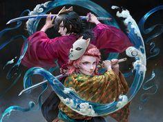Anime Angel, Anime Demon, Manga Anime, Anime Art, Era Taisho, Demon Slayer, Realism Art, Awesome Anime, Animes Wallpapers