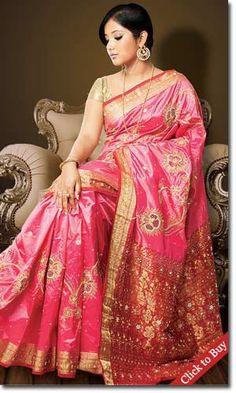 Festival designer saree
