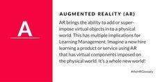 Tydy's HR Glossary - Augmented Reality (AR)