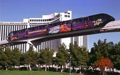 Getting around Las Vegas shuttles, monorail. buses, taxis, trams & trolleys