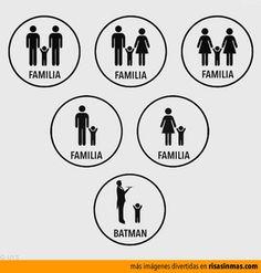 La familia de Batman.