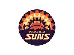 Phoenix Suns Logo by Michael Weinstein - Visualgraphc