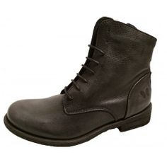 Black leather boots by Felmini, 8134