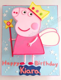 Celebrate with Cake!: Princess Peppa Pig Cake