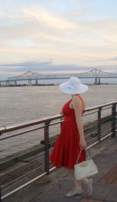 Retro Rack: Dresses and Calamari in New Orleans