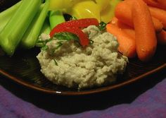 One-Step Artichoke Bean Dip With Roasted Red Peppers