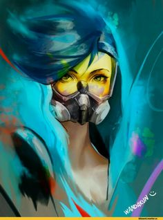 Overwatch - Graffiti Tracer