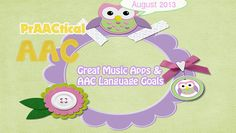 Great Music Apps & AAC Language Goals