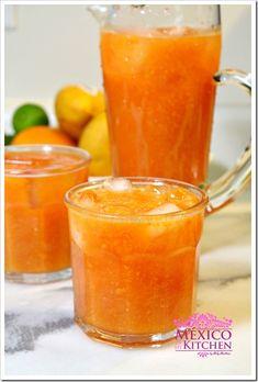 Papaya Agua Fresca - Mexican Papaya Drink