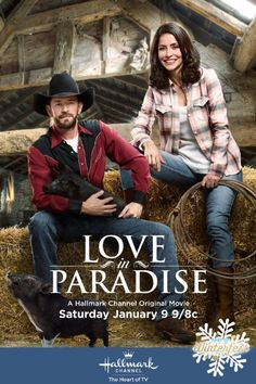 """Find out more about the Hallmark Channel original movie """"Love in Paradise,"""" starring Luke Perry and Emmanuelle Vaugier. Hallmark Channel, Películas Hallmark, Films Hallmark, Family Christmas Movies, Hallmark Christmas Movies, Family Movies, Xmas Movies, Holiday Movies, 2015 Movies"""