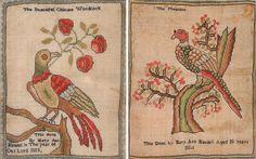 Two George III needlework samplers:, the beautiful