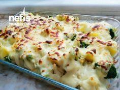 Beşamelli Brokoli Karnabahar Patates Yemeği