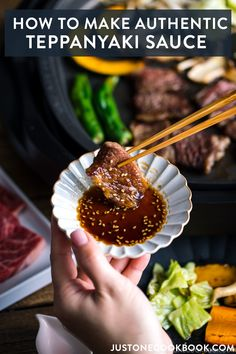 Here s the ultimate guide on how to do Teppanyaki at home It s super easy to prepare the meal including homemade Teppanyaki Sauce Easy Japanese Recipes at Easy Japanese Recipes, Japanese Food, Asian Recipes, Indonesian Recipes, Japanese Dishes, Orange Recipes, Grilling Recipes, Cooking Recipes, Barbecue Recipes