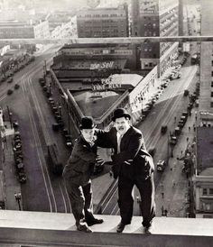 Laurel and Hardy