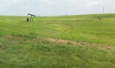 all you see in the country is beautiful land and oil wells