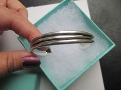 cdef0c974 Authentic Tiffany & Co Heavy cuff bracelet sterling silver. Get the  lowest price on. Tradesy