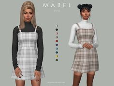 Clothing: Mabel dress by Plumbobs n Fries from The Sims Resource Maxis, Sims 4 Mm Cc, Sims Four, Sims 4 Mods Clothes, Sims 4 Clothing, The Sims 4 Bebes, Sims 4 Tsr, The Sims 4 Packs, Sims 4 Dresses