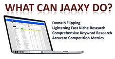 Looking for a great keyword research tool! Jaaxy also provides many additional services with are included. Try it for FREE!