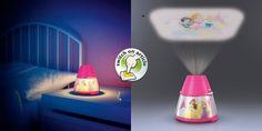 Disney karaktereket vetít a mennyezetre a Philips új projektor lámpája