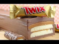 How to make an amazing giant Twix